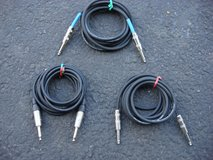"""TEN FOOT LONG 1/4 """" PATCH CORDS in Plainfield, Illinois"""