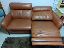 Good leather Couch in Okinawa, Japan