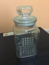 Clear glass jar in Yorkville, Illinois