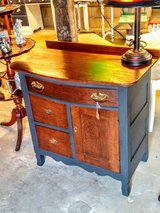 antique oak chalk painted dresser in Camp Lejeune, North Carolina