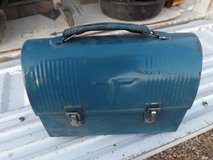 Workers lunch box with thermos in Alamogordo, New Mexico