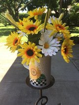 Sunflowers and Daisies in Fort Knox, Kentucky