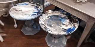 Acrylic Pour Tables in Bartlett, Illinois