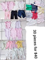 0-3 month baby girl clothes in Chicago, Illinois