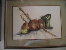 WATERCOLOR STILL LIFE PAINTING BY V DICKEN in Plainfield, Illinois