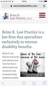 Veterans Benefits Attorney in Stuttgart, GE