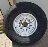 5 aluminum wheels w/ locking lug nuts in Alamogordo, New Mexico