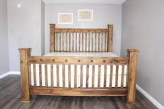 """King Size Bed - Solid Wood """"The Pueblo Viejo Collection"""" in Kingwood, Texas"""