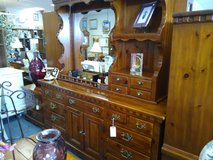 Solid Pine Dresser with Lighted Mirror in Chicago, Illinois