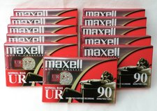x11 NEW Maxell UR CASSETTE TAPES in Alamogordo, New Mexico