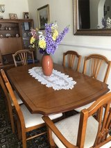 IMMACULATE DINING SET AND FREE WALL UNIT in Lakenheath, UK