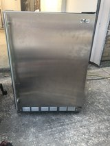 stainless steel mini fridge with ice maker in The Woodlands, Texas