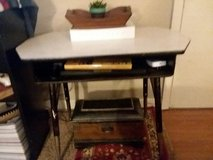 old school metal desk in Fort Campbell, Kentucky
