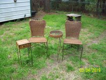 Wicker Chairs(2) and 2 end tables in Leesville, Louisiana