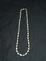 """Baroque Pearl Necklace / 14K Gold Clasp & Beads ~ 18"""" ~ in Lockport, Illinois"""