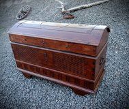 rare 200 year old chest with rounded top in Stuttgart, GE