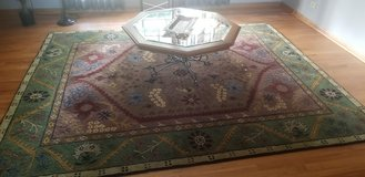 rug and coffee table in Plainfield, Illinois