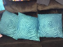 Teal Decorative Pillows in Joliet, Illinois