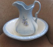 Antique  Vintage Pitcher And Wash Basin in Clarksville, Tennessee