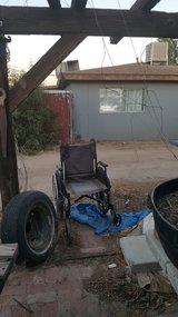 Wheelchair in Yucca Valley, California