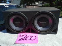 "Kenwood, 12"" sub Box in Kingwood, Texas"