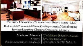Third Heaven Cleaning Services in Tacoma, Washington