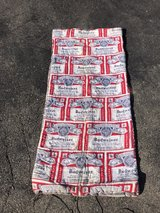 Budweiser sleeping bag in Bartlett, Illinois