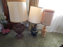 Set of 3 tall Lamps.  Fits any Decor in Alamogordo, New Mexico