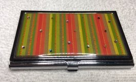 Business Card Holder Metal with Sparkle in Kingwood, Texas