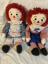 Raggedy Ann and Andy in Kingwood, Texas