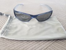 Nike Sunglasses - Metallic Blue with Reflective Lens (Cleaning Bag Included) in Okinawa, Japan