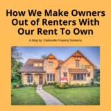 How We Make Owners Out of Renters With Our Rent To Own in Fort Campbell, Kentucky