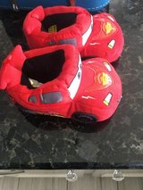 Lightning McQueen slippers XL 11/12 in Yorkville, Illinois