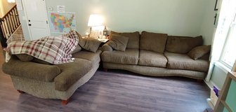 Oversized Couch & Loveseat in Camp Lejeune, North Carolina