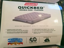 Coleman Air Mattress (Double) in Aurora, Illinois
