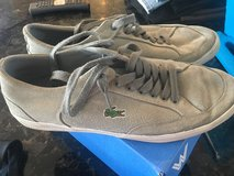 Men's size 9 grey suede Lacoste in Chicago, Illinois
