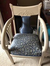 Refinished Antique Armchair (professionally reupholstered) in Sandwich, Illinois