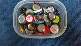 Variety of bottle caps in Kingwood, Texas