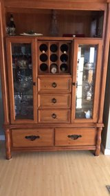 wine hutch oak in Tacoma, Washington