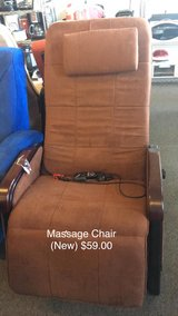 Massage Chair (New) in Fort Leonard Wood, Missouri