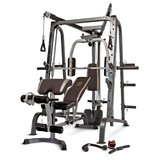 Marcy Deluxe Diamond Elite Smith Cage Home Workout Machine Total Body Gym System in Beaufort, South Carolina