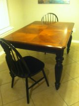 Solid wood Dining Table+2 Chairs in Spring, Texas