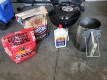 Weber Charcoal Grill Lot in Fort Campbell, Kentucky