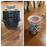 pet cage & candle warmer in Okinawa, Japan