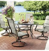 Outdoor tempered Glass Table-table ONLY in Kingwood, Texas