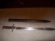swiss saw back / bayonet/ sword in Chicago, Illinois