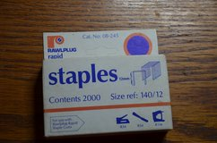 Staples for staple gun 140/12 12mm 2000 in box will fit various staple guns in Lakenheath, UK