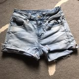 American Eagle highwaisted shorts in Okinawa, Japan