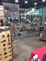 Metal Art Wall magnets Be at Pumpkin Fest Oct 5th Orting lots vendors in Fort Lewis, Washington