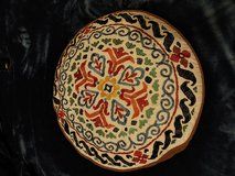 """round decorative pillow colorful graphic 18"""" x 5"""" in Fort Leonard Wood, Missouri"""
